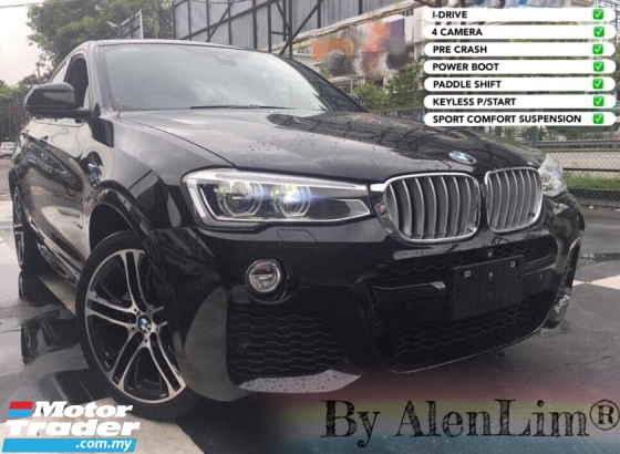 2015 BMW X4 M SPORT 2.0 TURBO (UNREG) FREE WRTY n SERVICE CHEAPEST IN TOWN