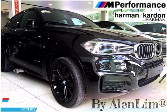 2015 BMW X6 M SPORT 40D 3.0D (UNREG) FREE WRTY n SERVICE CHEAPEST IN TOWN
