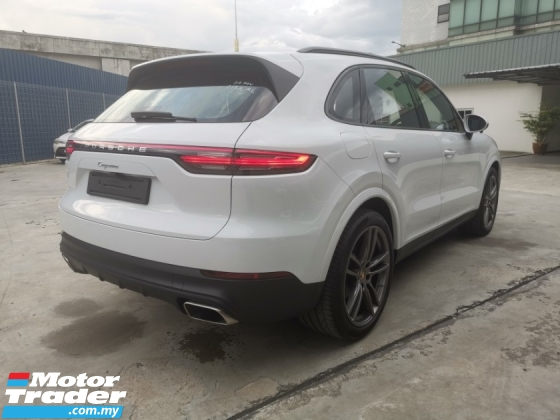 2018 PORSCHE CAYENNE CAYENNE TURBO 3.0L V6 ENGINE - NEW MODEL (DEMO CAR) - UK SPEC UNREG