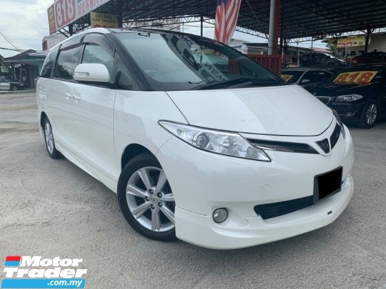 2013 TOYOTA ESTIMA 2.4 PREMIUM ADVANCE G SUNROOF KEYLESS 7-SEATS LEATHER