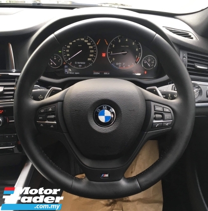 2016 BMW X4 M SPORT 2.0 TURBO (UNREG) FREE WRTY n SERVICE CHEAPEST IN TOWN