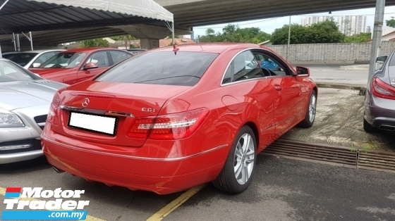 2011 MERCEDES-BENZ E-CLASS E250 CGI 1.8cc COUPE AVANT-GARDE (A) REG 2016, JAPAN SPEC, ONE CAREFUL OWNER, LOW MILEAGE DONE 42K KM, 100% ACCIDENT FREE, FREE 1 YEAR GMR CAR WARRANTY, 17\