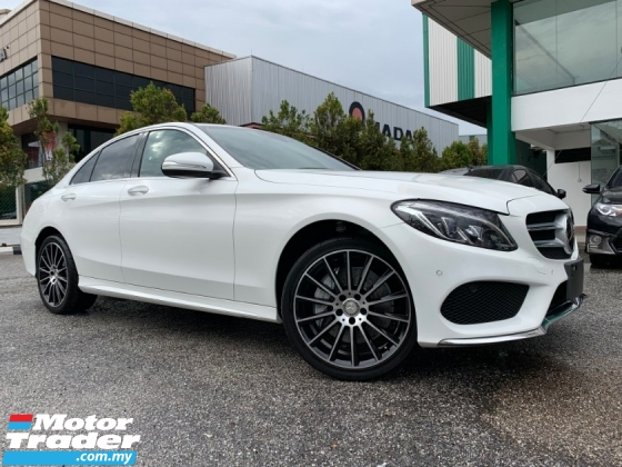 2015 MERCEDES-BENZ C-CLASS C250 AMG DYNAMIC HANDLING,AIRMATIC JAPAN UNREG BUY&WIN FREE 5 YEARS WARRANTY
