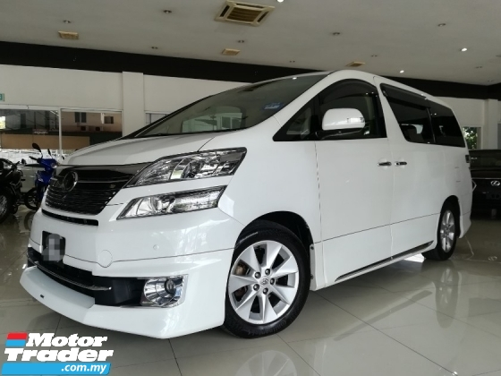 2013 TOYOTA VELLFIRE 3.5 VL PREMIUM SELECTION FACELIFT H/THEATER S/CAMERA 3 Yrs WARRANTY