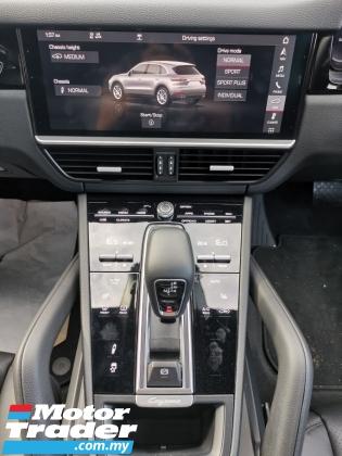 2018 PORSCHE CAYENNE CAYENNE 3.0 V6 TURBOCHARGED SPORTCHRONO WHITE OFFER UNREG