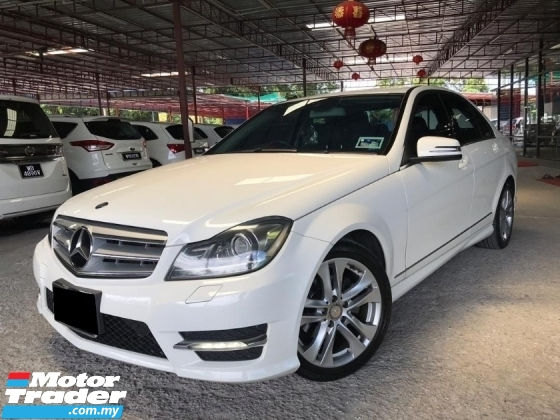 2014 MERCEDES-BENZ C-CLASS C180 CGI AVANTGARD 7 SPEED  FACELIFT LIMITED JAPAN SPEC LOW MILEAGE