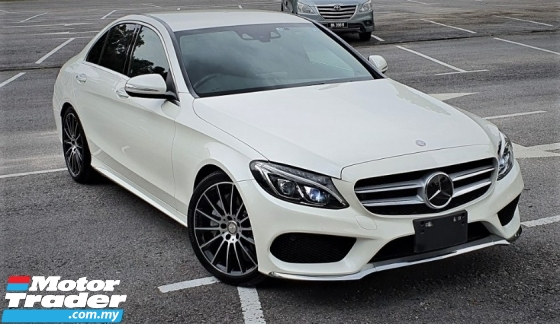 2015 MERCEDES-BENZ C-CLASS 2015 MERCEDES C250 2.0 AMG SPEC ORIGINAL FROM JAPAN UNREG CAR SELLING PRICE ( RM 218,000.00 NEGO )