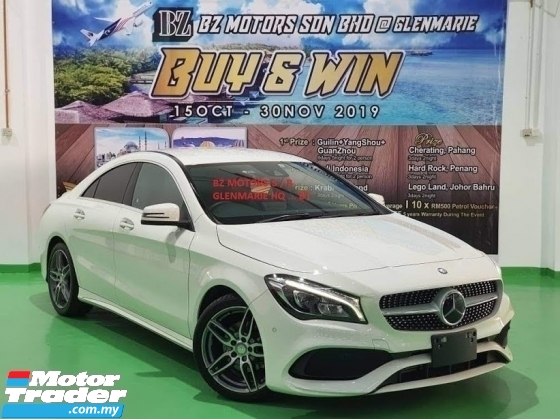2017 MERCEDES-BENZ CLA 2017 MERCEDES BENZ CLA180 1.6 AMG FACELIFT TURBO UNREG JAPAN SPEC CAR SELLING PRICE ONLY ( RM 188,00