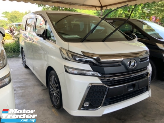 2015 TOYOTA VELLFIRE 2.5 ZG 4 camera power boot JBL theatre eco mode 2 power doors unregistered