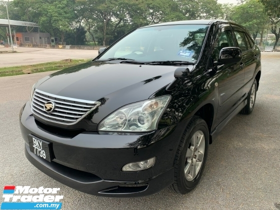 2006 TOYOTA HARRIER 240G PREMIUM L (A) Full Set Bodykit 1 Owner Only TipTop Condition View to Confirm