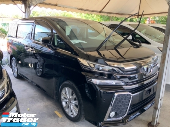 2016 TOYOTA VELLFIRE 2.5 Z 7 seat 2 power doors surround camera power boot leather seats unregistered