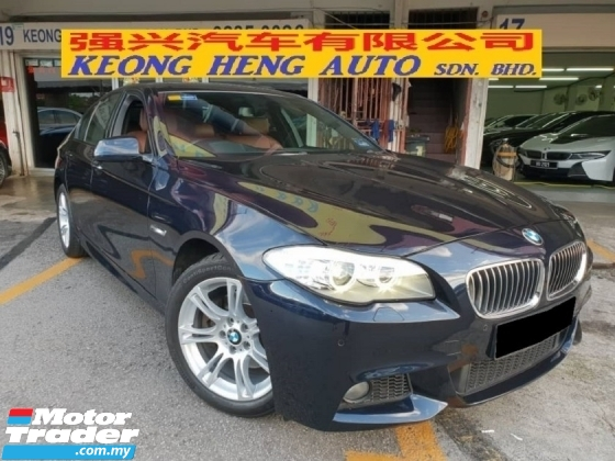 2013 BMW 5 SERIES 528i M SPORT 2.0 (CKD LOCAL SPEC) (FREE 2 YEARS WARRANTY)