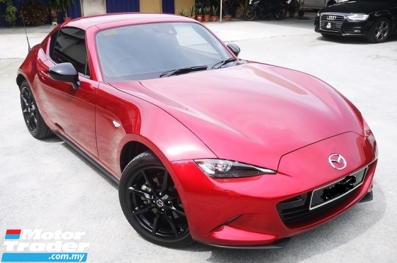 2019 MAZDA MX-5 2019 MAZDA MX-5 2.0 RF HARDTOP CAR SELLING PRICE ONLY ( RM 245,000.00 NEGO ) BODY COLOR - RED COLOR