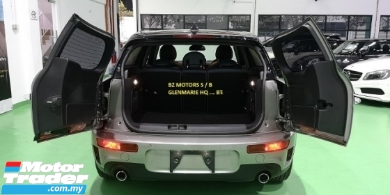 2016 MINI Clubman 2016 MINI COOPER S CLUBMAN 2.0A TWIN TURBO NEW FACELIFT JAPAN SPEC SELL  PRICE RM 159000.00 NEGO