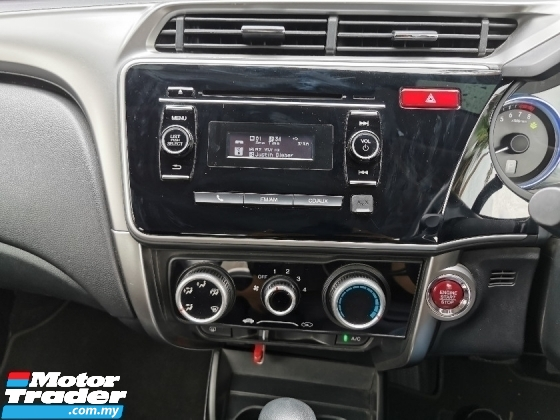 2015 HONDA CITY HONDA CITY 1.5 E (A) KEYLESS PUSH START 1 OWNER