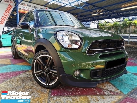2017 MINI Countryman Mini COOPER COUNTRYMAN S 1.6 TURBO JCW ALL4 WRRNTY