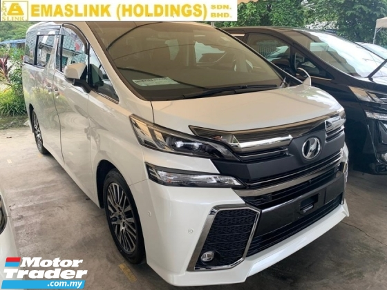 2015 TOYOTA VELLFIRE  2.5ZG PILOT SEAT JBL SOUND SYSTEM HOME THEATER MONITOR NEW ARRIVAL UNREGISTER 2.xx INTEREST RATE UP TO 9YEARS