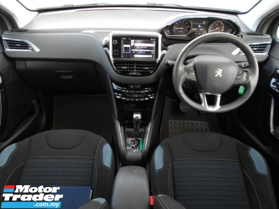2015 PEUGEOT 208 1.6 (A) 5 DOOR FULL SERVICE RECORD GOOD CONDITION LOW MLEAGE LIKE NEW ACCIDENT FREE AND 1 CAREFUL OWNER