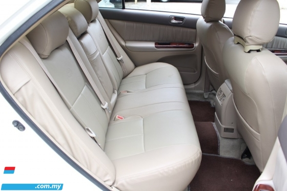 2003 TOYOTA CAMRY 2.5V (A) Ori Year Make 2003 (DVD)(Leather Seats)(Good Condition)