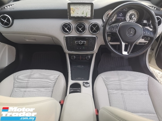 2015 MERCEDES-BENZ A-CLASS A180 1.6 SE BEIDGE LEATHER INTERIOR JAPAN SPEC UNREG