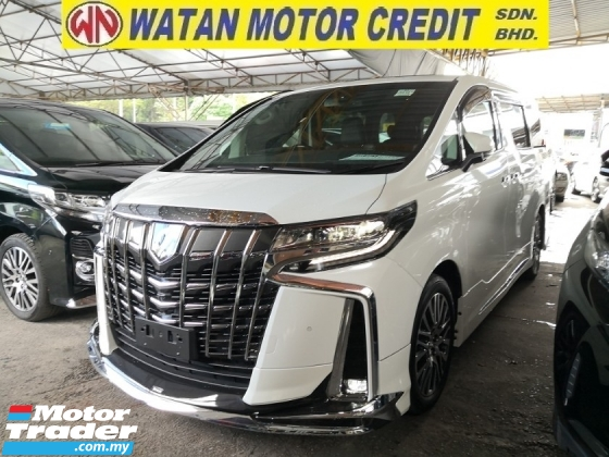 2017 TOYOTA ALPHARD 2.5 SC NEW FACELIFT FULL SPEC HOME THEATER NO HIDDEN CHARGES