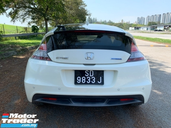 2013 HONDA CR-Z 1.5 (A) Hybrid Full Service Record in HONDA 1 Owner Only TipTop Condition View to Confirm