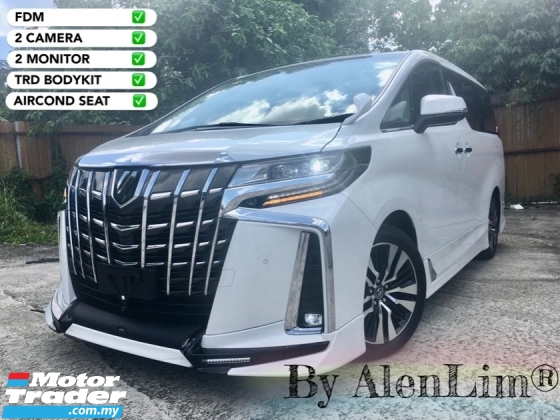 2018 TOYOTA ALPHARD SC 2.5 (UNREG) FREE WRTY n SERVICE CHEAPEST IN TOWN