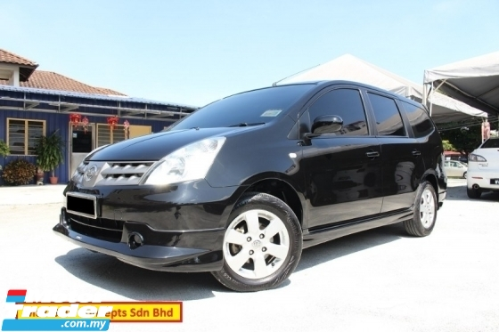 2010 NISSAN GRAND LIVINA 1.6 (A) Impul Specs (Ori Year Make 2010)(Accident Free)(Loan up to 7 Yrs)