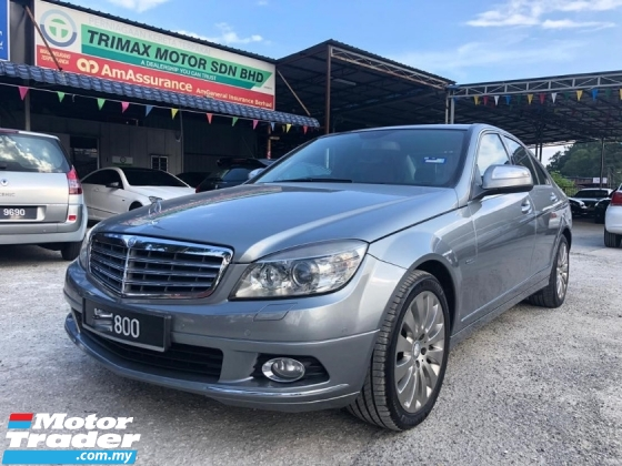 2009 MERCEDES-BENZ C-CLASS C200 HIGH SPEC FACELIFT TIPTOP LIKE NEW NICE NUMBER