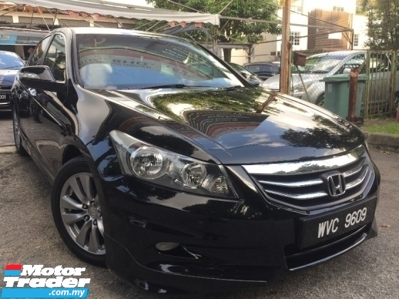 2011 HONDA ACCORD 2011 HONDA ACCORD 2.4 (A) FACELIFT 1 OWNER