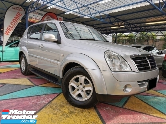 2008 SSANGYONG REXTON Ssangyong REXTON 2.7 RX270 XDi LEATHER SUNROOF WARRANTY
