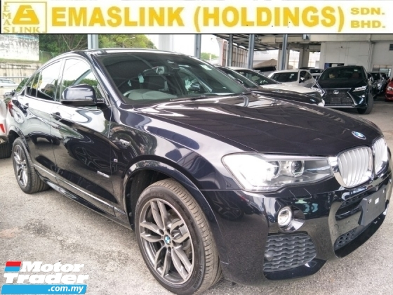 2016 BMW X4 2.0 360 CAMERA POWER BOOT PADDLE SHIFT MEMORY ELECTRIC LEATHER SEATS 19 M SPORT RIM FREE WARRANTY