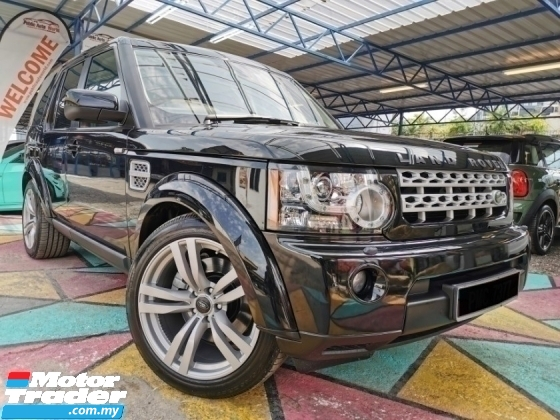 2010 LAND ROVER DISCOVERY 4 Land Rover DISCOVERY 4 3.0 TDV6 7SEATS WARRANTY