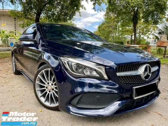2017 MERCEDES-BENZ CLA 200 AMG FACELIFT CBU IMPORT BARU = TIP TOP CONDITION = LOW MILEAGE= FULL SERVICE RECORD MBM= YES YEAR END SALE= PUCHONG DEALER