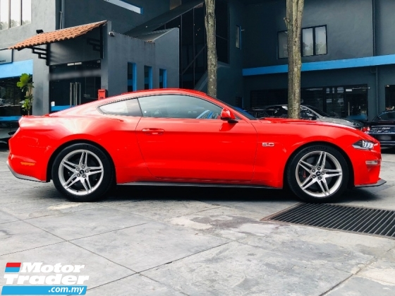 2018 FORD MUSTANG GT FASTBACK NFL 5.0 V8 WITH RECARO SEAT