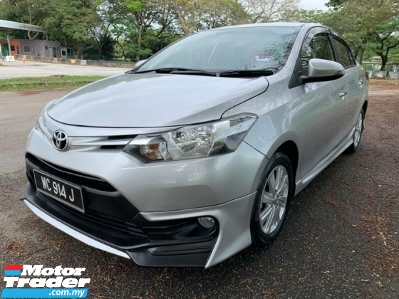 2016 TOYOTA VIOS 1.5 (AT) Full Service Record 1 Lady Owner Only Push Start Button TipTop Condition View to Confirm