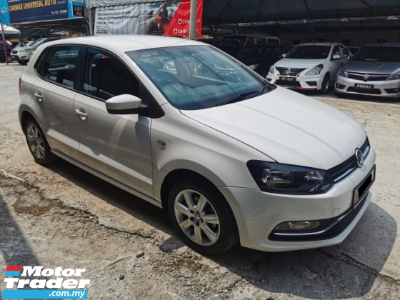 2016 VOLKSWAGEN POLO 1.6 SPORT COMFORTLINE HATCHBACK , LOW MILEAGE, SERVICE RECORD U/WARRANTY BY VOLKS MSIA, 1 OWNER ONLY,SUPERB CONDITION, NO HIDDEN INFO ,