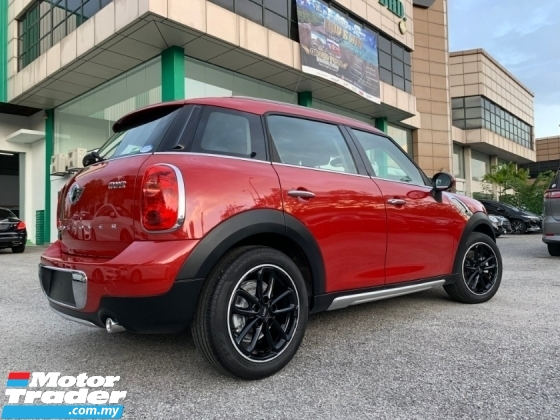 2015 MINI Countryman  COOPER 1.6(M) JAPAN UNREG  FREE 5 YEARS WARRANTY