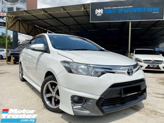 2015 TOYOTA VIOS 1.5 TRD BODYKIT - LEATHER SEAT - DVD PLAYER - REVERSE CAMERA - LIKE NEW CAR - SUPERB CONDITION - END YEAR SALE