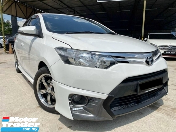 2015 TOYOTA VIOS 1.5 TRD BODYKIT - LEATHER SEAT - DVD PLAYER - REVERSE CAMERA - LIKE NEW CAR - WARRANTY 1 YEAR - SUPERB CONDITION - PROMO NAK RAYA 2020