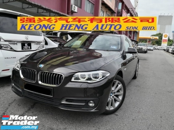 2014 BMW 5 SERIES 520i CKD TRUE YEAR MADE 2014 Mil 77k km Full Service Wearnes Auto Warranty to 2019