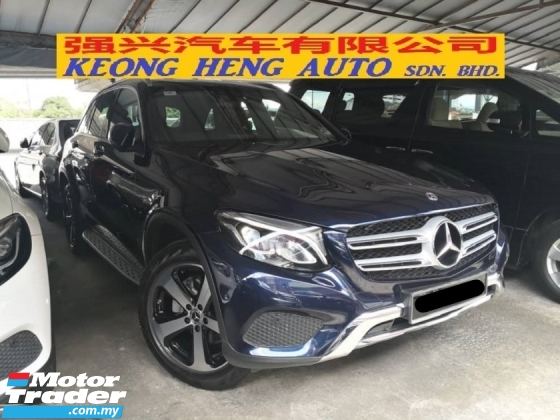2017 MERCEDES-BENZ GLC 200 2.0 Turbo CKD TRUE YEAR MADE 2017 Mil 22k km only Full Service C and C MBM Warranty to Sep 2021