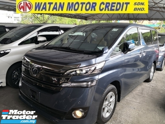 2015 TOYOTA VELLFIRE 2.5 X INC SST ANDROID PLAYER 360 CAM POWER BOOT POWER DOOR JAPAN UNREG
