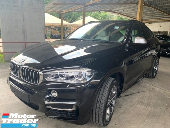 2016 BMW X6 X6M 50D 3.0D M FULL SPEC UNREGISTER 720NM DIESEL POWER DIGITAL METER HEAD UP DISPLAY HARMAN KARDON SURROUND CAMERA SUNROOF LOAN PROVIDED UP TO 9YEARS PRICE NEGOTIABLE