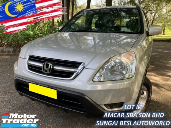 2004 HONDA CR-V CR-V 2.0 I-VTEC (A) 1 LADY OWNER