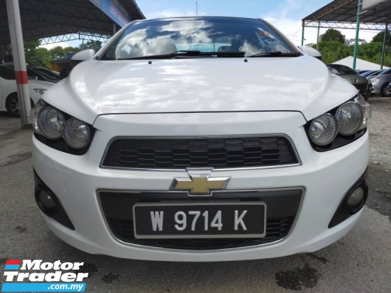2013 CHEVROLET SONIC 1.4 LTZ (A) SEDAN - FULL LOAN