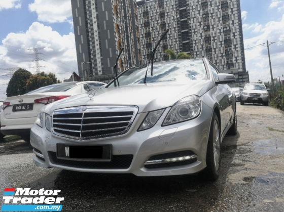 2012 MERCEDES-BENZ E-CLASS E250 1.8 (A) FULL SERVICE BY MERCEDES ** SPECIAL PROMOTION ** HIGH LOAN AVAILABLE ** EXCELLENT CONDITION **