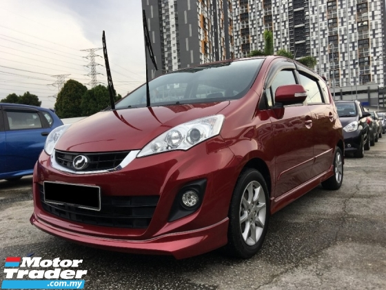 2017 PERODUA ALZA 1.5 ADVANCED (A) FULL SERVICE UNDER PERODUA ** SPECIAL PROMOTION ** HIGH LOAN AVAILABLE **