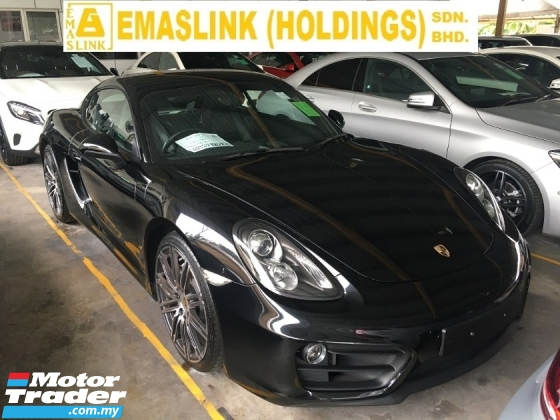2015 PORSCHE CAYMAN CAYMAN 2.7 COUPE FACELIFT SPORT UK SPEC