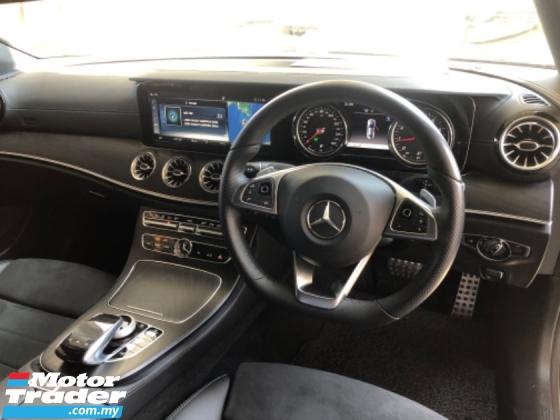 2018 MERCEDES-BENZ E-CLASS Unreg Mercedes Benz E300 2.0 AMG Coupe Panaromic Roof PowerBoot